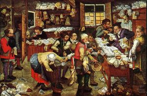640px-Pieter_Brueghel_the_Younger,_'Paying_the_Tax_(The_Tax_Collector)'_oil_on_panel,_1620-1640._USC_Fisher_Museum_of_Art