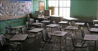dilapadated classrooms